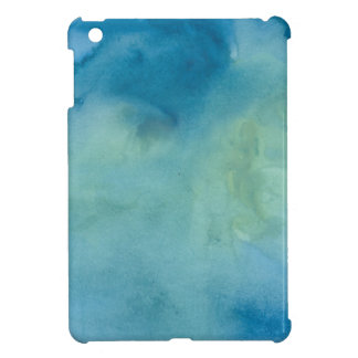 Blue & Green Marble Watercolour iPad Mini Cases