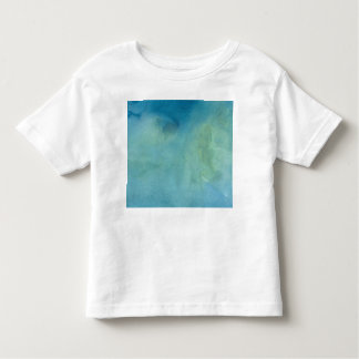 Blue & Green Marble Watercolour Toddler T-shirt