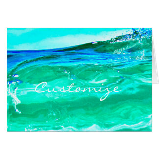 blue/green maui wave Thunder_Cove Card