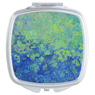 Blue Green Mirrors For Makeup