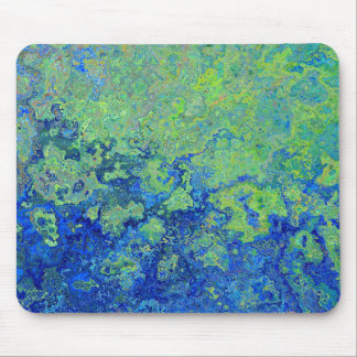 Blue Green Mouse Pad