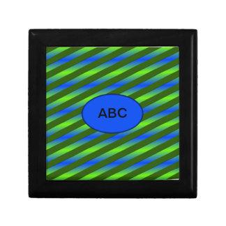 Blue Green Neon Gift Box