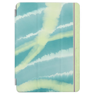 Blue Green ocean water color Apple iPad cover