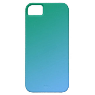 Blue & Green Ombre iPhone 5 Cover