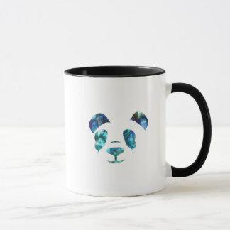Blue Green Panda Mug