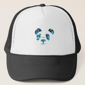 Blue Green Panda Trucker Hat