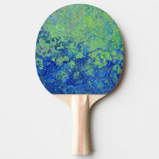 Blue Green Ping Pong Paddle