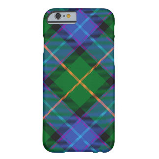 Blue Green Plaid iPhone 6/6S Barely There Case