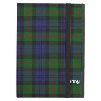 Blue, Green, & Red Murray Tartan Plaid Custom iPad Air Case