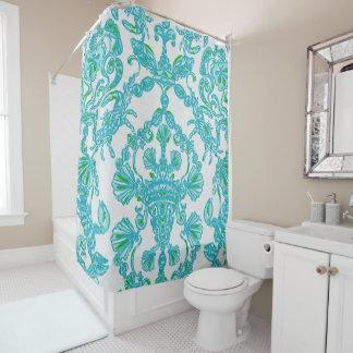 Blue/green Shower Curtain