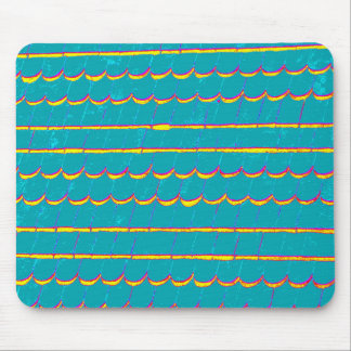 blue-green siding shingles mouse pad