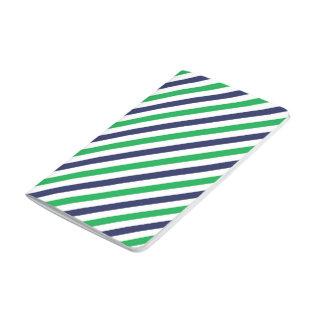 Blue & Green Stripe Journal