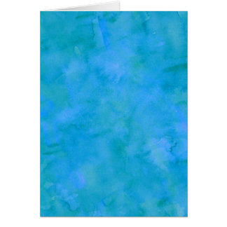 Blue Green Watercolor Texture Pattern Background Card