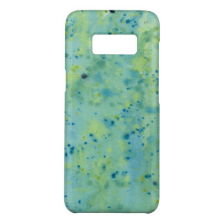 Blue & Green Watercolour Splat Case-Mate Samsung Galaxy S8 Case