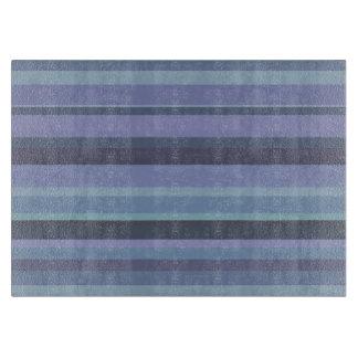 Blue-grey horizontal stripes boards