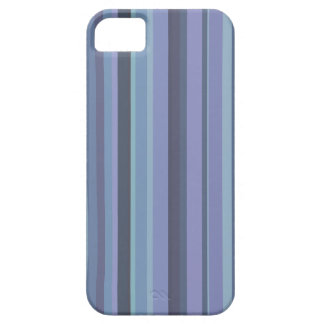 Blue-grey horizontal stripes iPhone 5 cover