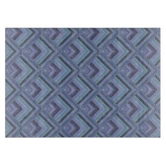 Blue-grey stripes scale pattern boards