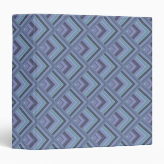Blue-grey stripes scale pattern vinyl binder