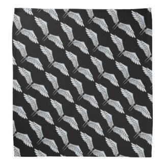 Blue-grey wings bandana