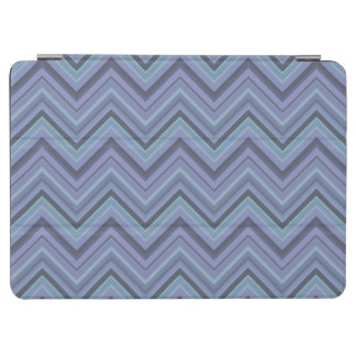Blue-grey zigzag stripes iPad air cover