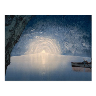 Blue Grotto, Capri Postcard