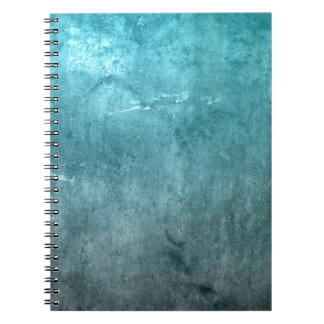 BLUE GRUNGE NOTEBOOKS