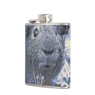 blue guinea pig hip flask