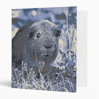 blue guinea pig vinyl binders