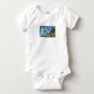 BLUE GUM TREE QUEENSLAND AUSTRALIA BABY ONESIE
