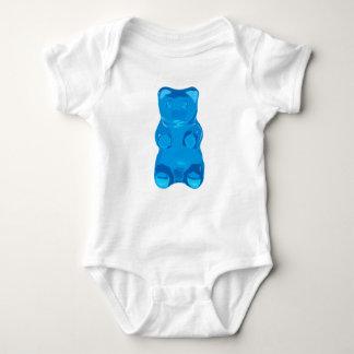 Blue Gummybear Illustration Baby Bodysuit