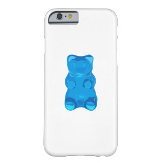 Blue Gummybear Illustration Barely There iPhone 6 Case