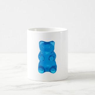 Blue Gummybear Illustration Coffee Mug