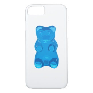 Blue Gummybear Illustration iPhone 8/7 Case
