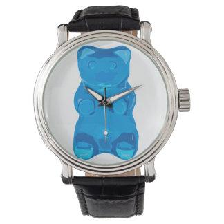 Blue Gummybear Illustration Watch
