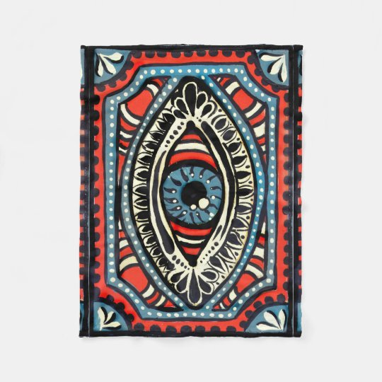 Blue Gypsi Fleece Blanket