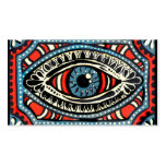 Blue Gypsies Eye Business Card Template
