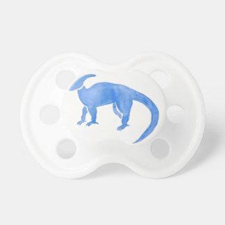 Blue Hadrosaur Pacifier