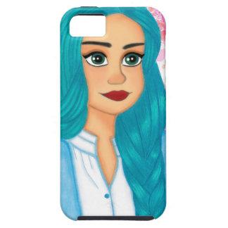 Blue Hair iPhone 5 Case