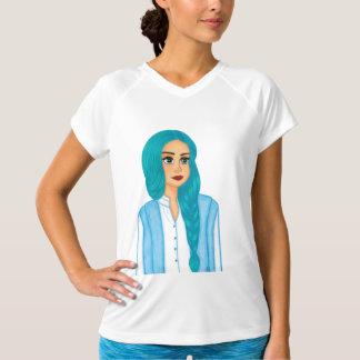 Blue hair T-Shirt