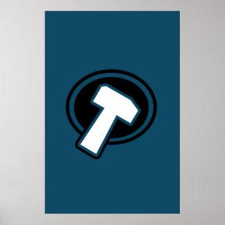 Blue Hammer - Poster
