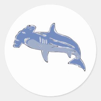Blue Hammerhead stickers