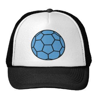 blue handball ball trucker hat