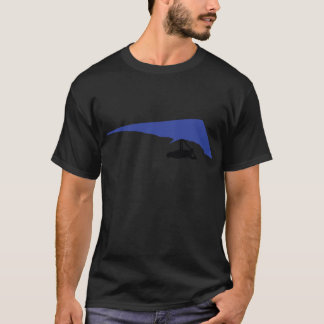 blue hang-glider icon T-Shirt