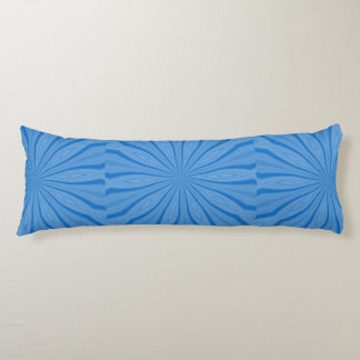 Blue Hanukkah Streaks Body Pillow