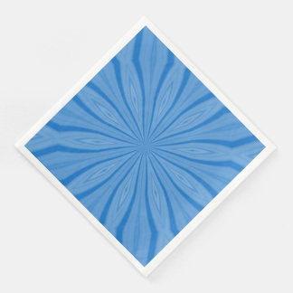 Blue Hanukkah Streaks Disposable Napkin