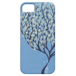 Blue Happy iPhone 5 Cover