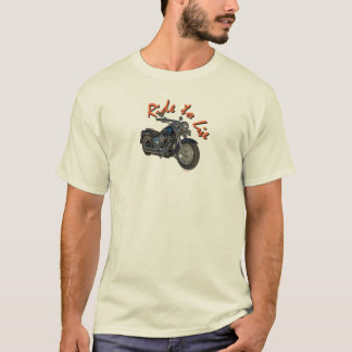 Blue Harley Motorcycle T-Shirt