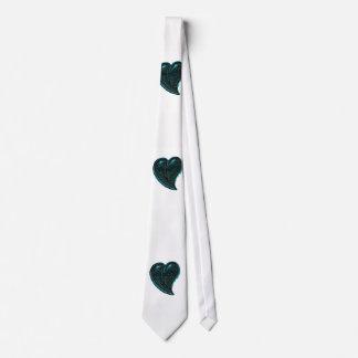 Blue Hart Tie