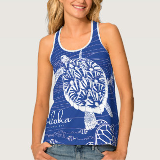 Blue Hawaii Hanauma Bay Tank Top