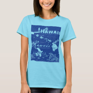 Blue Hawaii Surfing T-Shirt